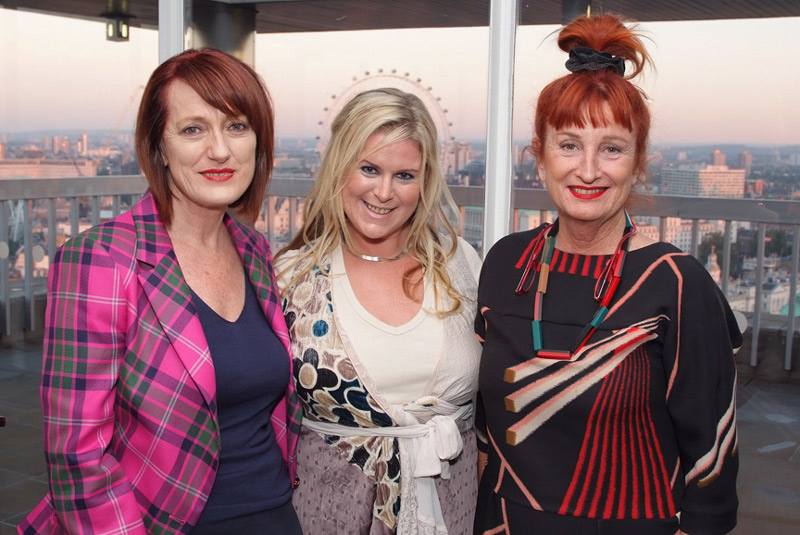 Maggie Eyre, Bronwen Horton and Peta Mathias