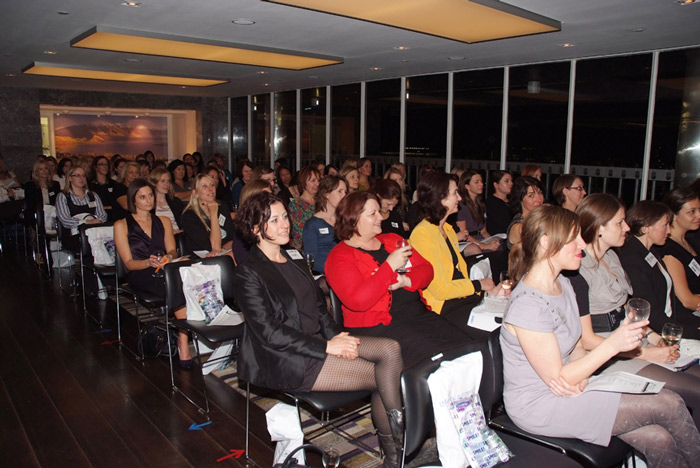 New Zealand Business Women's Network Audience at New Zealand House in London